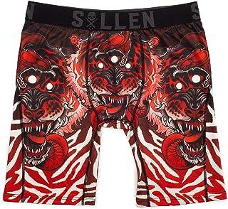Sullen Men's 3 Eye Tiger Premium Boxers Brief Underwear