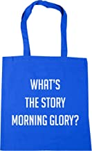 HippoWarehouse What's the story morning glory? Tote Shopping Gym Beach Bag 42cm x38cm, 10 litres