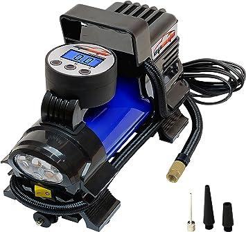 EPAuto 12V DC Portable Air Compressor Pump, Digital Tire Inflator: image