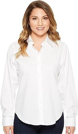 LAUREN Ralph Lauren - Petite Cotton Poplin Shirt
