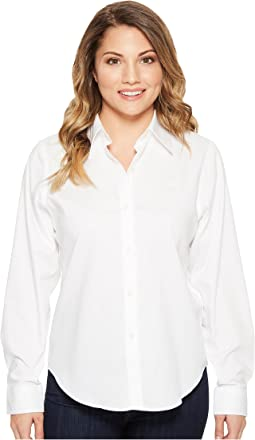 Petite Cotton Poplin Shirt