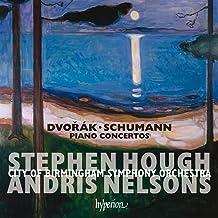 Dvorak: Schumann: Piano Concerti (Hough)