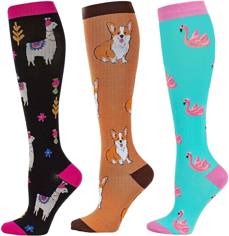 Compression Socks Women and Men, 20-30mmHg, Best for Nurses, Travel, Pregnancy: Clothing