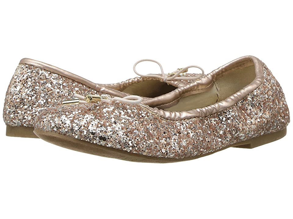 Sam Edelman Kids Felicia Ballet (Little Kid/Big Kid) (Light Pink Blush Glitter) Girls Shoes