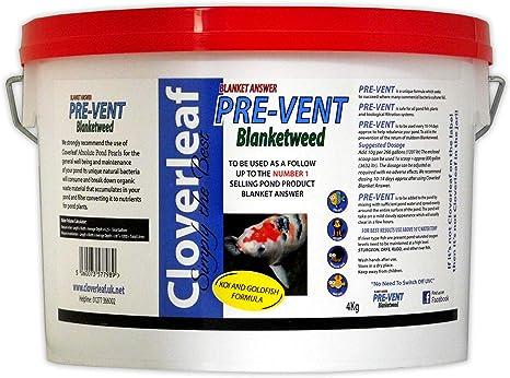 Cloverleaf Couverture Answer-Pré-Vent blanketweed éviter retour Pond Koi