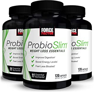 Force Factor Probioslim Weight Loss Essentials 120ct 3-Pack, 360 Count