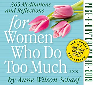 for Women Who Do Too Much Page-A-Day Desk Calendar 2019 [6