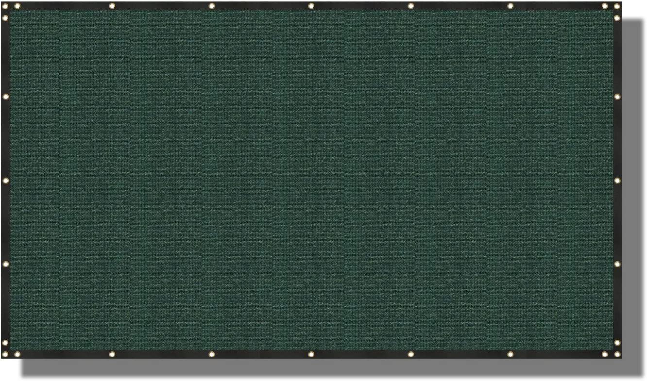 Coarbor 8' x 60' Privacy Year-end gift Fence 1 with Grommets Max 47% OFF Mesh Brass Screen