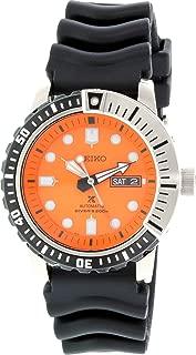 Prospex SRP589 K1 Black Orange 200m Automatic Men's Divers Watch
