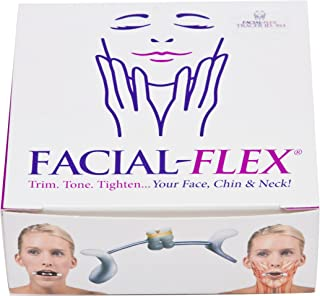 Facial Flex Facial Exercise and Neck Toning Kit Bands 8 oz & 6 oz & Case