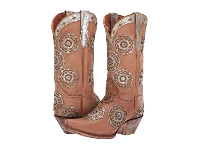Dan Post Circus Flower (Tan) Women