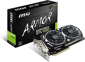 MSI GeForce GTX 1080 Ti Armor 11G OC - Tarjeta gráfica (refrigeración Armor 2X, 11 GB de Memoria GDDR5X, VR Ready)