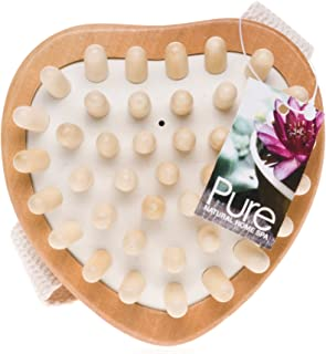 source balance wooden massage brush