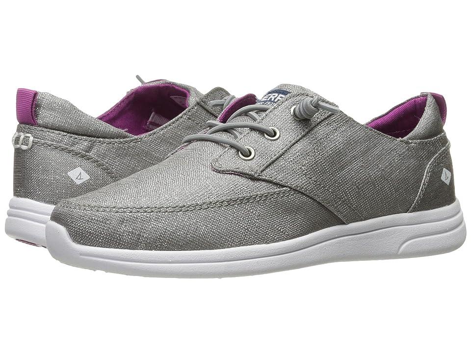 Sperry Kids Baycoast (Little Kid/Big Kid) (Grey/Sparkle) Girls Shoes