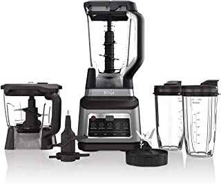 Ninja BN801 Professional Plus Kitchen System with Auto-iQ, and 64 oz. max liquid capacity Total Crushing Pitcher, Black an...