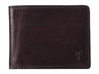 Frye Austin Slim ID Bifold (Merlot) Handbags