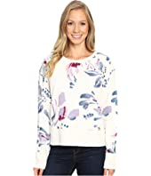 Life is Good - Abstract Floral Go-To Crew