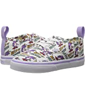 Vans Kids - Authentic Elastic Lace x Dallas Clayton (Toddler)