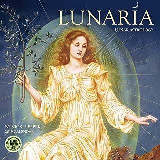 Lunaria 2019 Lunar Astrology Wall Calendar
