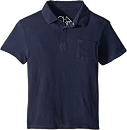 Chaser Kids - Cotton Jersey Short Sleeve Polo (Little Kids/Big Kids)