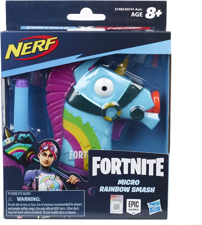 Nerf Microshots Fortnite Ranbow Smash (Hasbro E7485ES0)