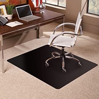 """ES Robbins Carpet Chair Mat, 36"""" x 48"""", Black"""