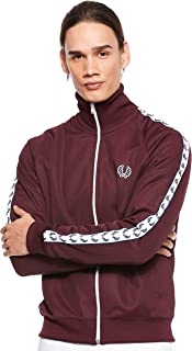 Fred Perry Men Taped Track Jacket