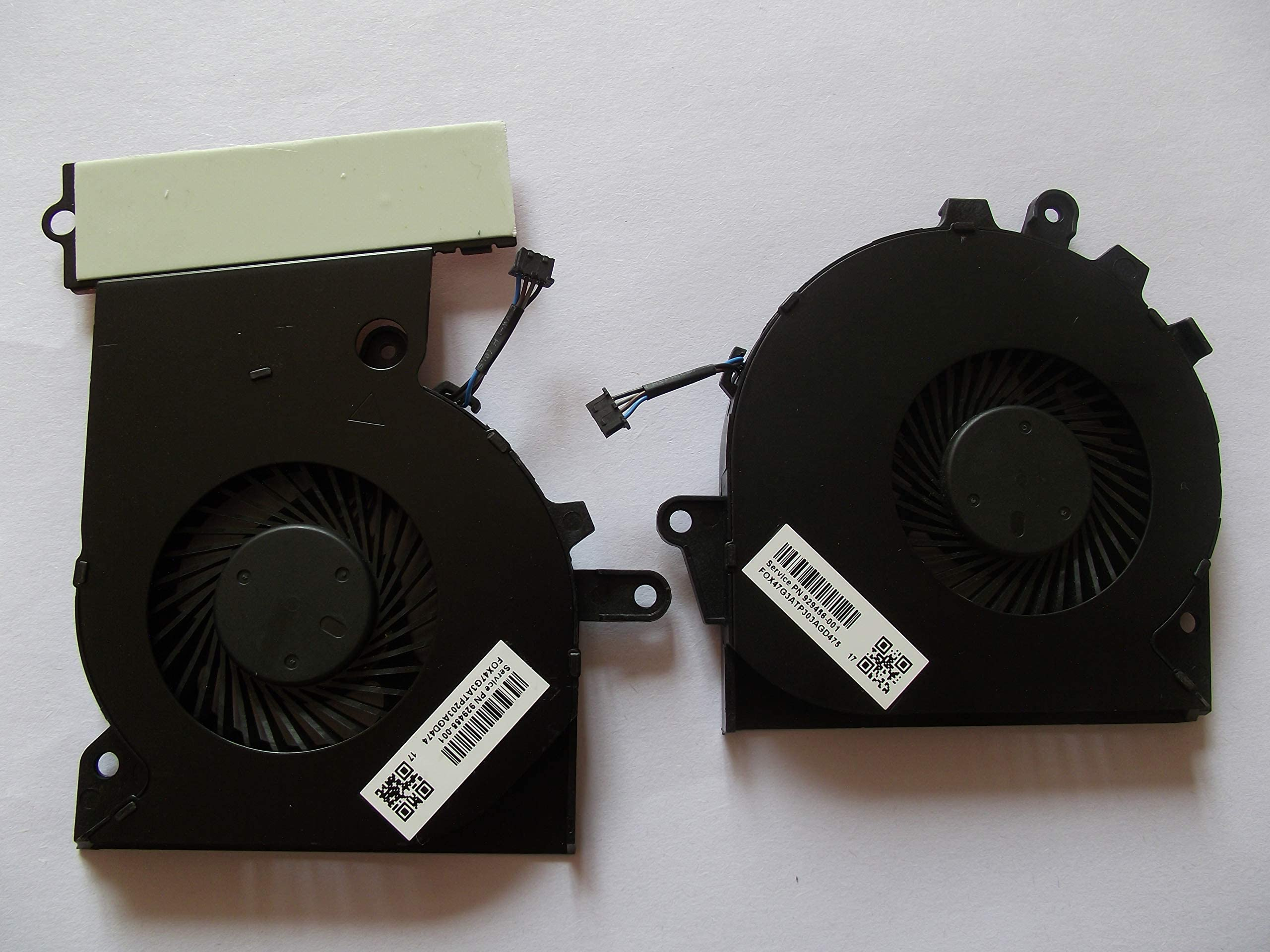 Replacement for HP OMEN 15-CE 17-AN Series Cooling GPU Fan