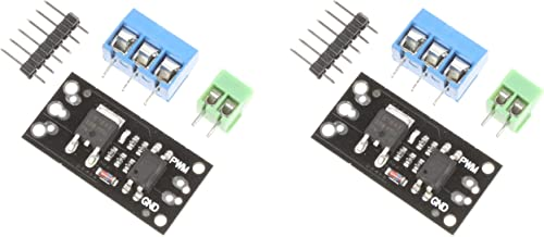 NOYITO Isolated MOS FET Field Effect Transistor Module Optocoupler isolation Alternative Relay For MCU Arduino - FR120N 100V 9.4A, LR7843 30V 161A, D4184 40V 50A - 2Pcs (30V 161A LR7843)