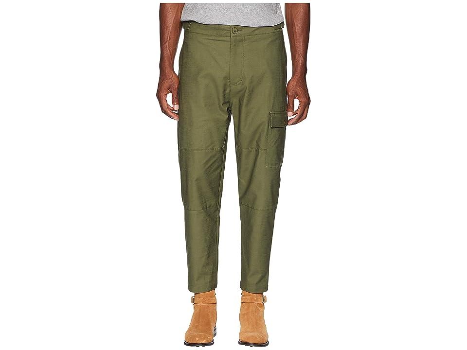 BLDWN Arabella Cargo Pants (Olive Green) Men