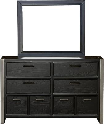 Right2Home Pulaski Youth Graphite Dresser with Mirror