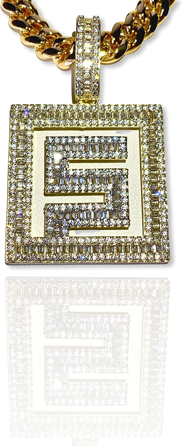 Dollar Limited Special Price Sign Money Grind Hustle Iced Our shop OFFers the best service Baguette Custom Diam Pendant