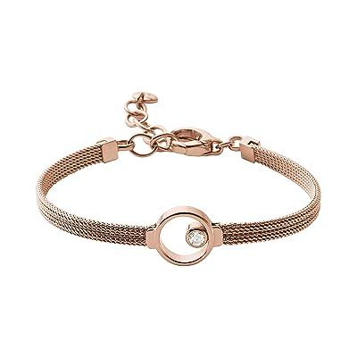 Skagen Elin Crystal Bracelet (Rose Gold) Bracelet