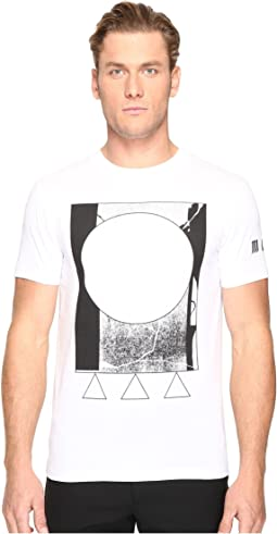 McQ - Abstract Short Sleeve T-Shirt