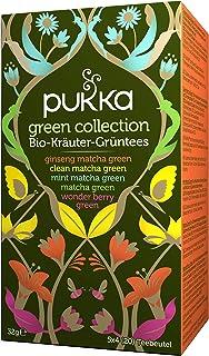 Pukka Bio-Tee Green Collection 80 Teebeutel, 4er Pack 4 x 20 beutel