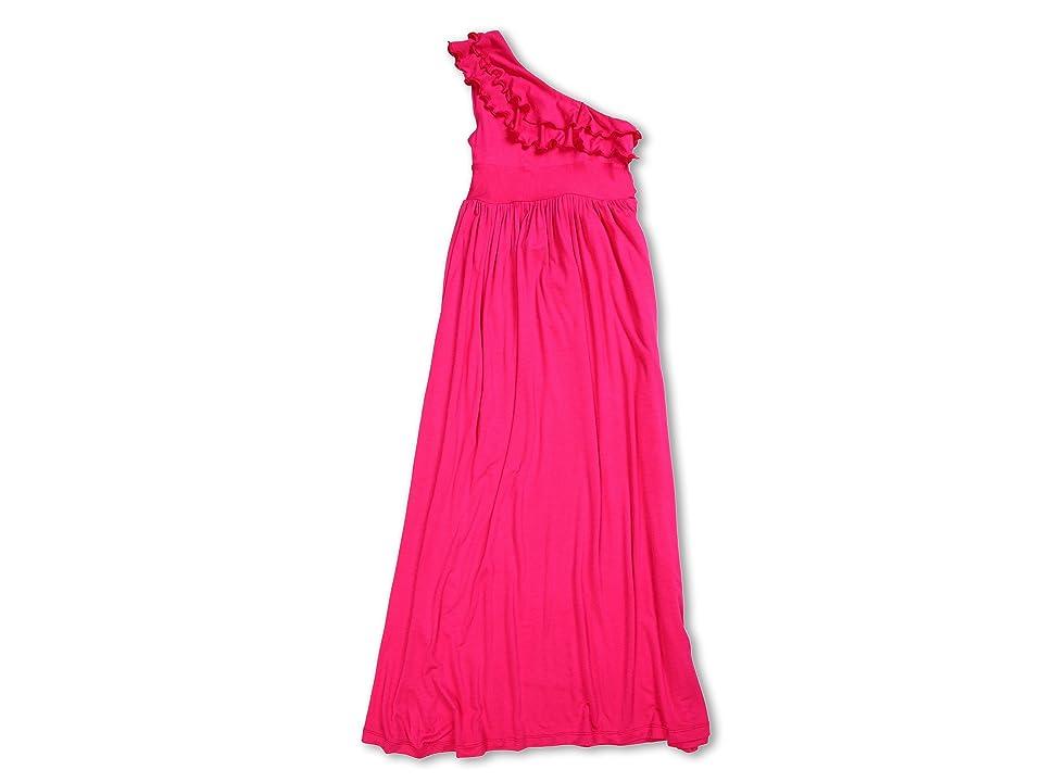 fiveloaves twofish Bedouin Maxi Dress (Little Kids/Big Kids) (Fuchsia) Girl