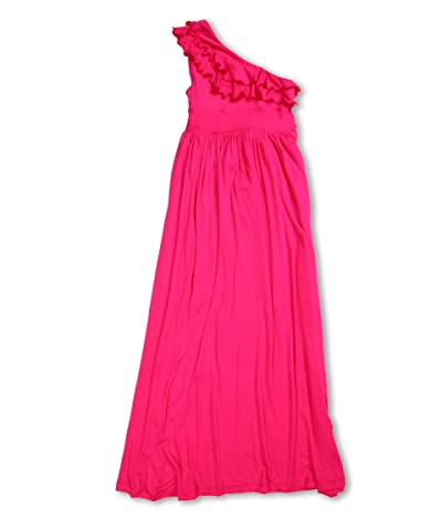 fiveloaves twofish Bedouin Maxi Dress (Little Kids/Big Kids) (Fuchsia) Girl