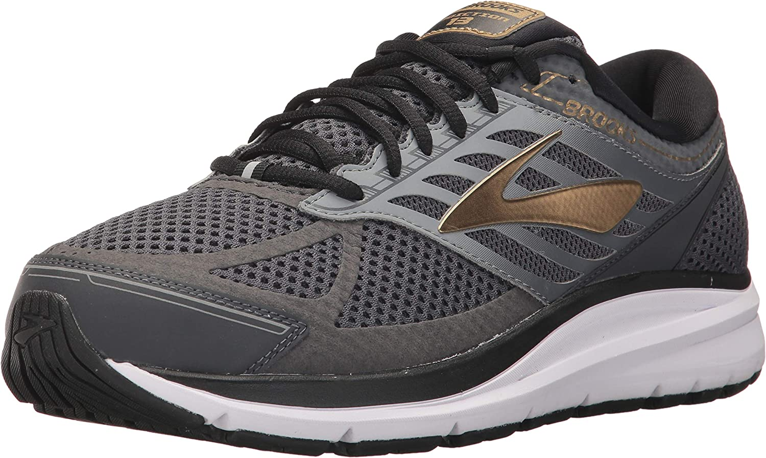 Brooks Men's Addiction 13 schwarz Ebony Metallic Gold 7.5 B B US  Kostenloser Versand