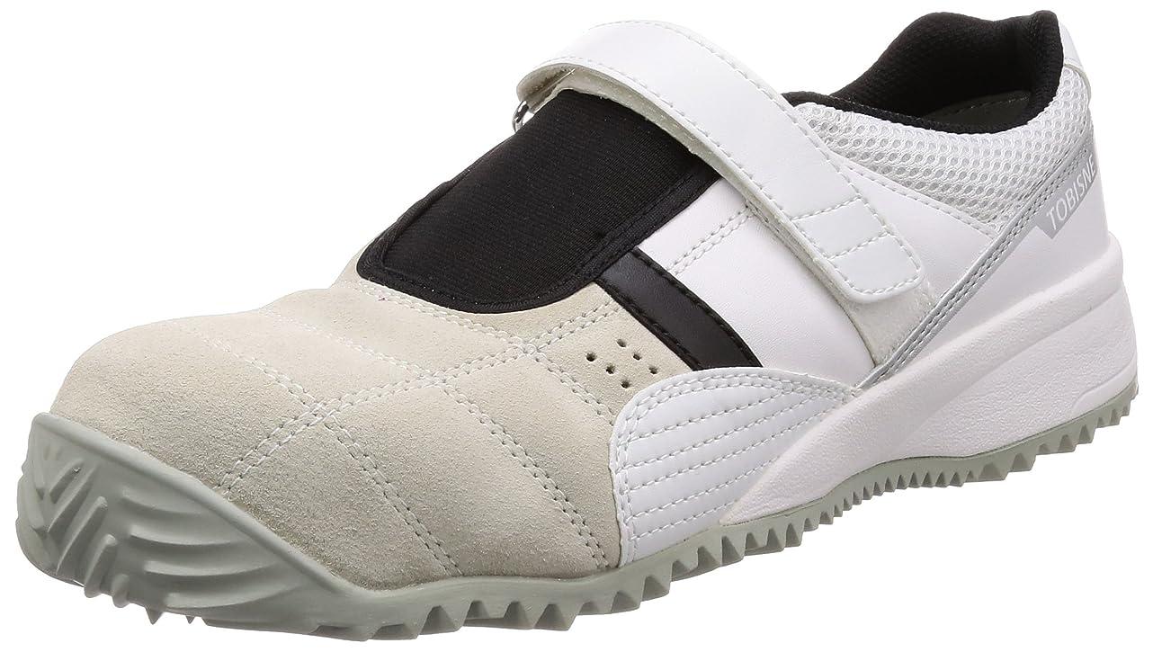 世辞レモン複雑でない[ミドリ安全] 安全作業靴 JSAA認定 屋根上作業向け マジックタイプ プロスニーカー トビスニ TS100N メンズ