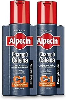 Alpecin Champú Cafeína C1 2 x 250 ml – champú anticaída para hombres