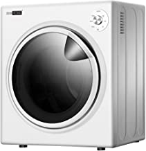VIVOHOME 110V 1500W Electric Compact Portable Clothes Laundry Dryer Machine for Apartment 3.5 cu.ft 13lbs