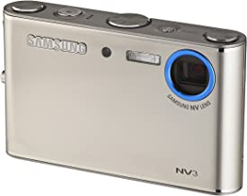 Samsung Digimax NV3 7MP Digital Camera with 3x Advance Shake Reduction Optical Zoom (Silver)