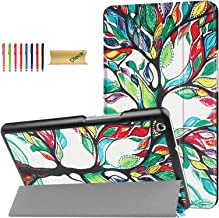 Dteck Case for Huawei Mediapad M3 Lite 8.0 Case - Lightweight Tri-Fold Multiple Viewing Smart Stand Cover with Auto Wake/S...