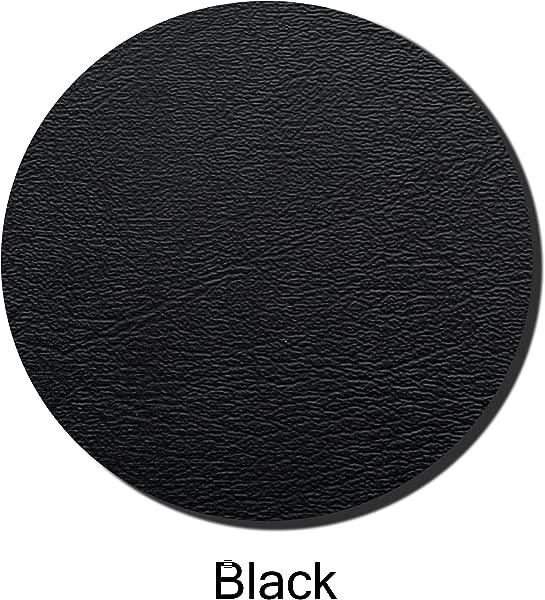 用重型商业级乙烯基 13 英寸直径黑色制成的座位顶部的酒吧凳子盖替换钉