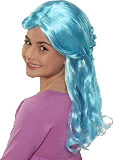 CGH Cute Girls Hairstyles! Wig - Turquoise Wavy Hair Style & Wear Wig