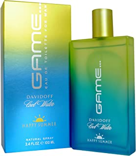Cool Water Game Happy Summer By Davidoff For Men Edt Spray 3.4 Oz