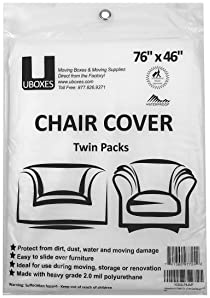 Uboxes Chair Cover - 2 Pk
