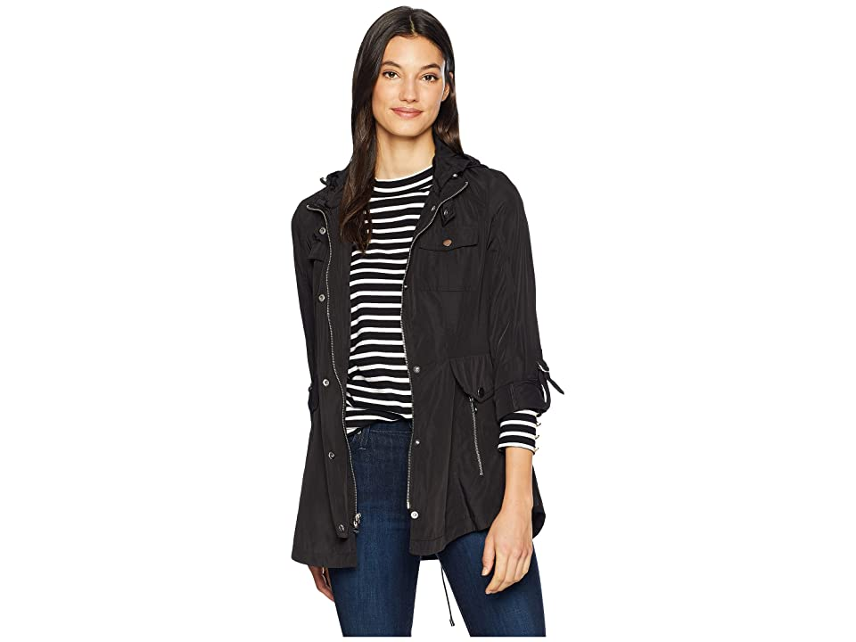 French Connection Belted Anorak (Black) Women