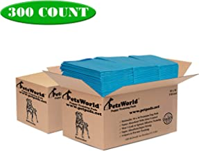 PETSWORLD Heavy Duty Dog Puppy Pads 30x36 Case 50, 150, 300 & More