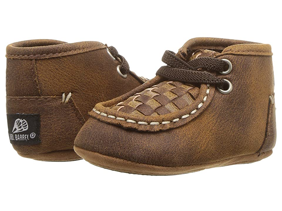 M&F Western Kids Carson (Infant/Toddler) (Brown) Cowboy Boots